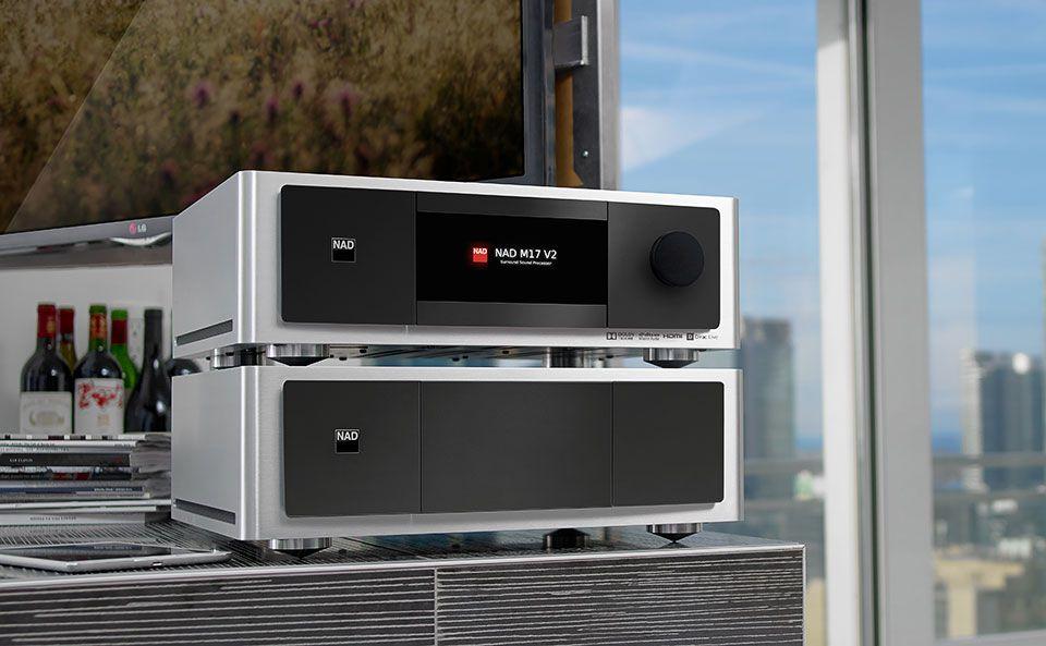 NAD M17 V2, processeur AV 11 canaux Dolby Atmos
