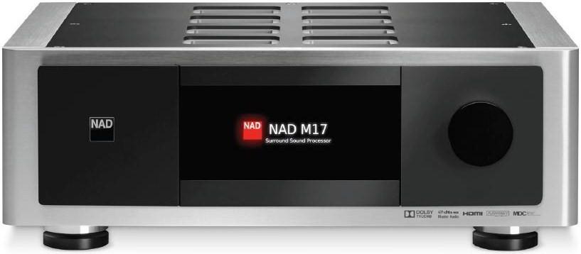 Pré-amplificateur, processeur de son surround NAD M17