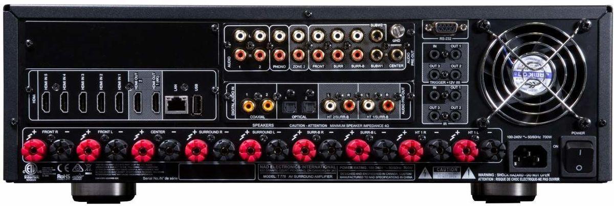 NAD T778, amplificateur home cinéma