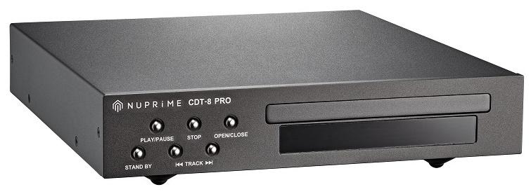 Drive CD, up-sampling, Nuprime CDT-8 PRO