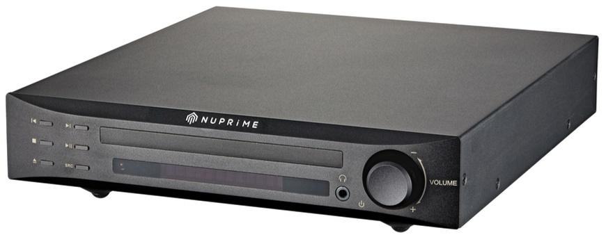 Lecteur CD, DAC, Préampli, 32bit / 768kHz, DSD, Nuprime CDP-9