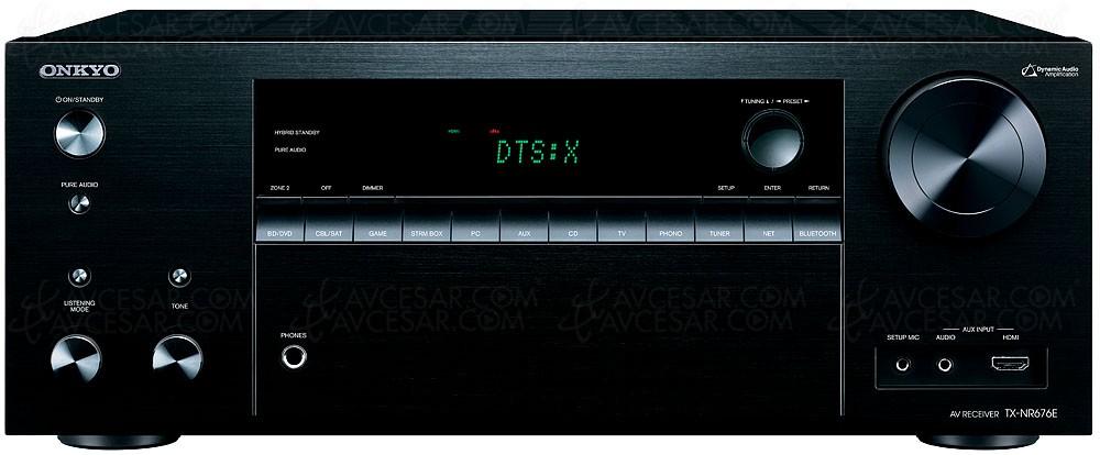 ONKYO TX-NR676, Dolby TrueHD,  DTS-HD, DTS:X et Dolby Atmos 5.1.2
