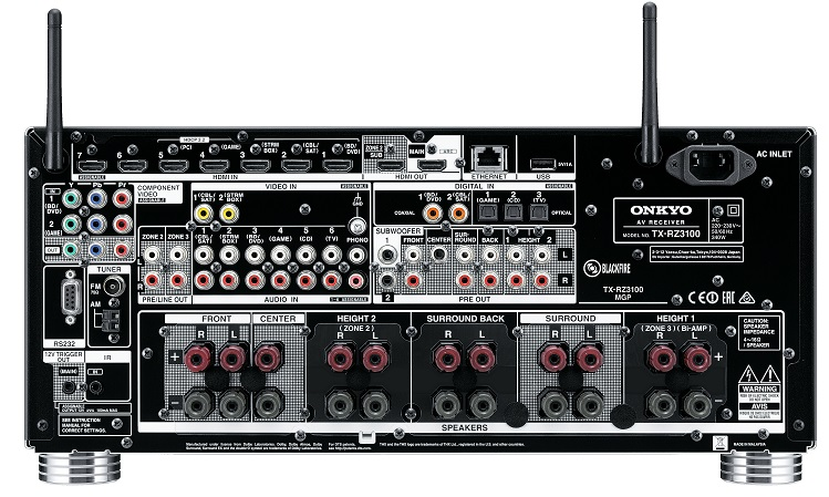 ONKYO TX-RZ1100, amplificateur 4K, Wifi, Airplay,Bluetooth