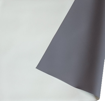 ORAY Toile  de projection Blanc Mat Occultant Dos Gris