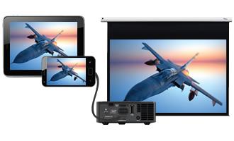 Vidéoprojecteur DLP, Full 1080p, OPTOMA EH504