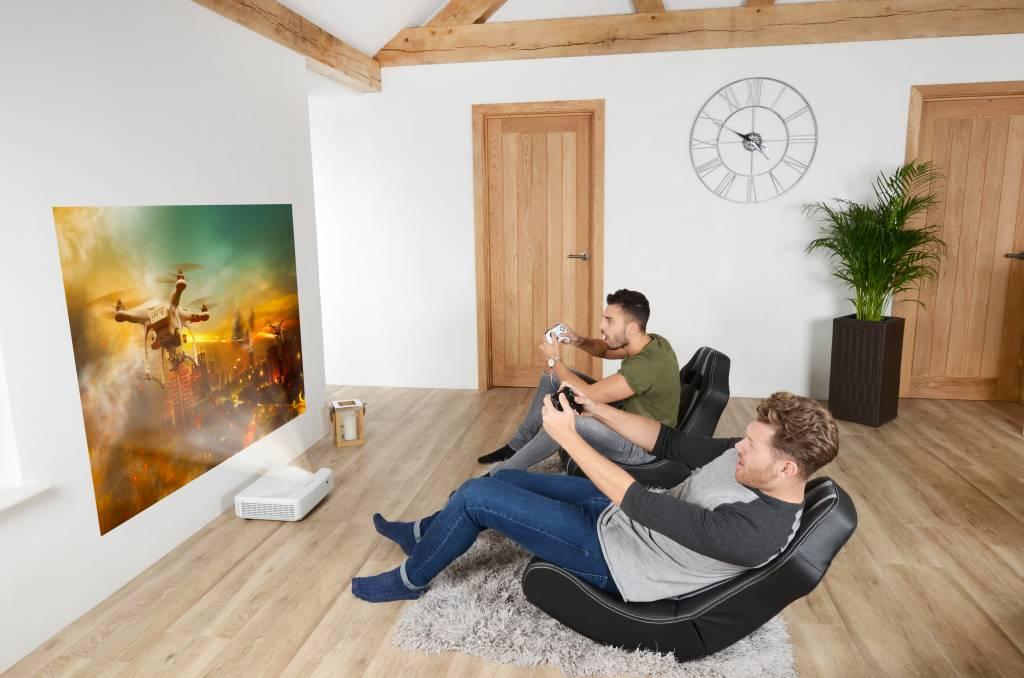 Optoma HD35 UST, Projecteur Home Cinema à Ultra-Courte focale 1080p,