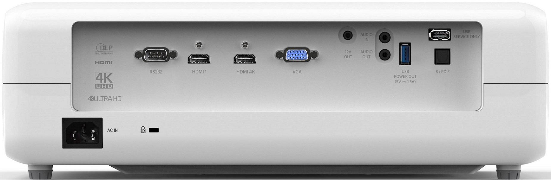 Projecteur DLP, 4K Ultra HD, Optoma UHD390X