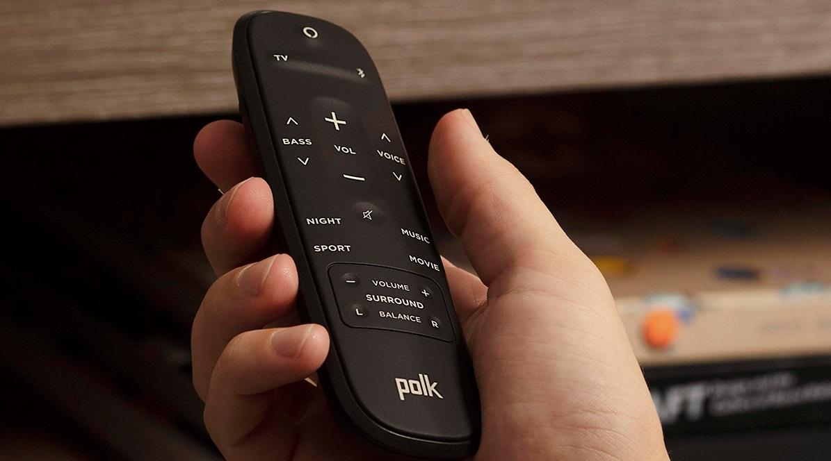 Barre de son Polk audio REACT