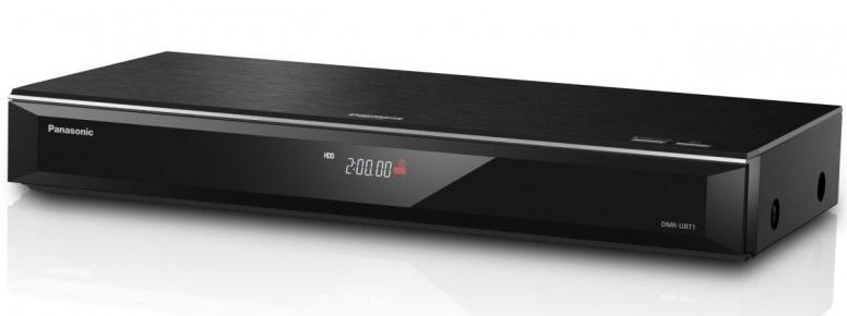 PANASONIC DMR-UBT1, Lecteur enregistreur Blu-ray UHD Double Tuner TNT HD 2 To