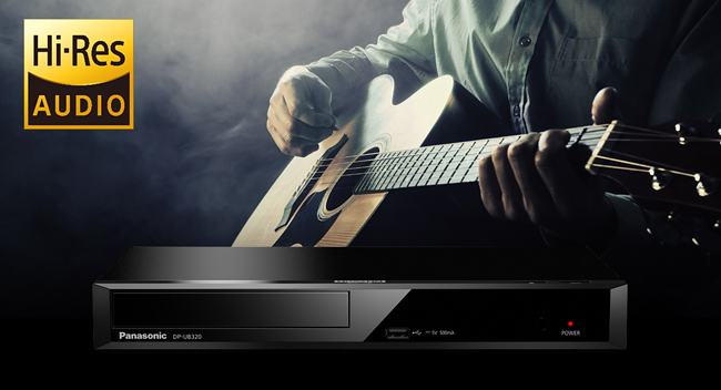 PANASONIC DP-UB820,  Lecteur Blu-ray 4K UHD, HDR10+, Dolby Vision, Hi-Res Audio