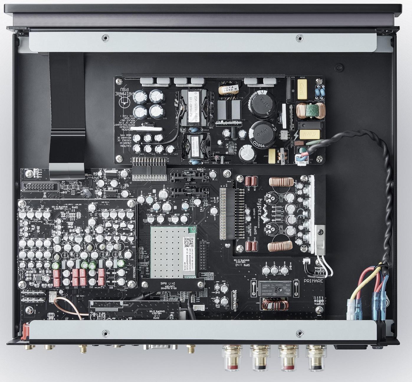 Primare I15 Prisma, décodage PCM 384 kHz et DSD 128