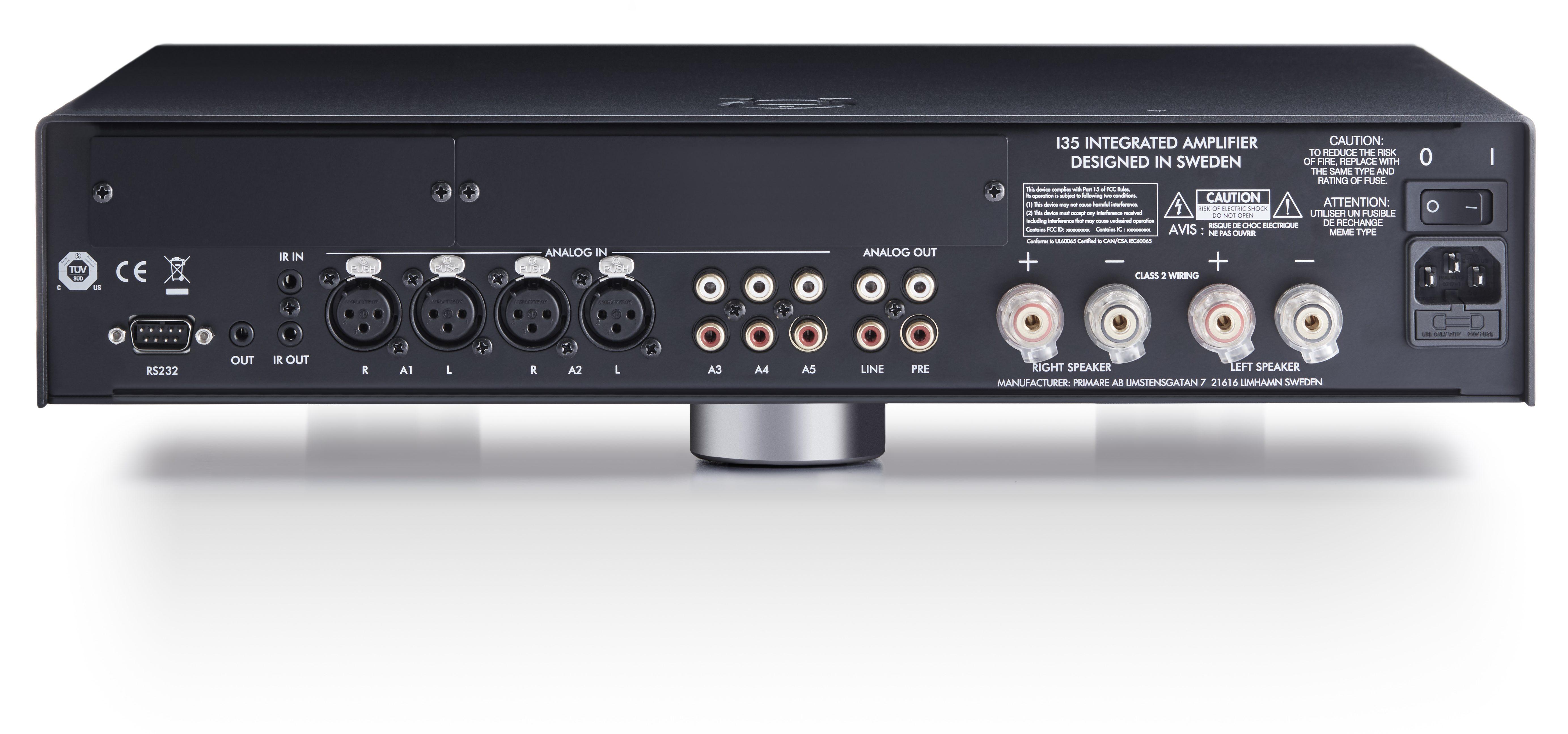 PRIMARE I35, amplificateur intégré