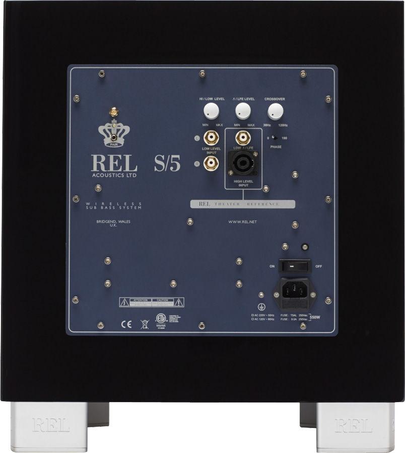 REL S5, caisson de graves