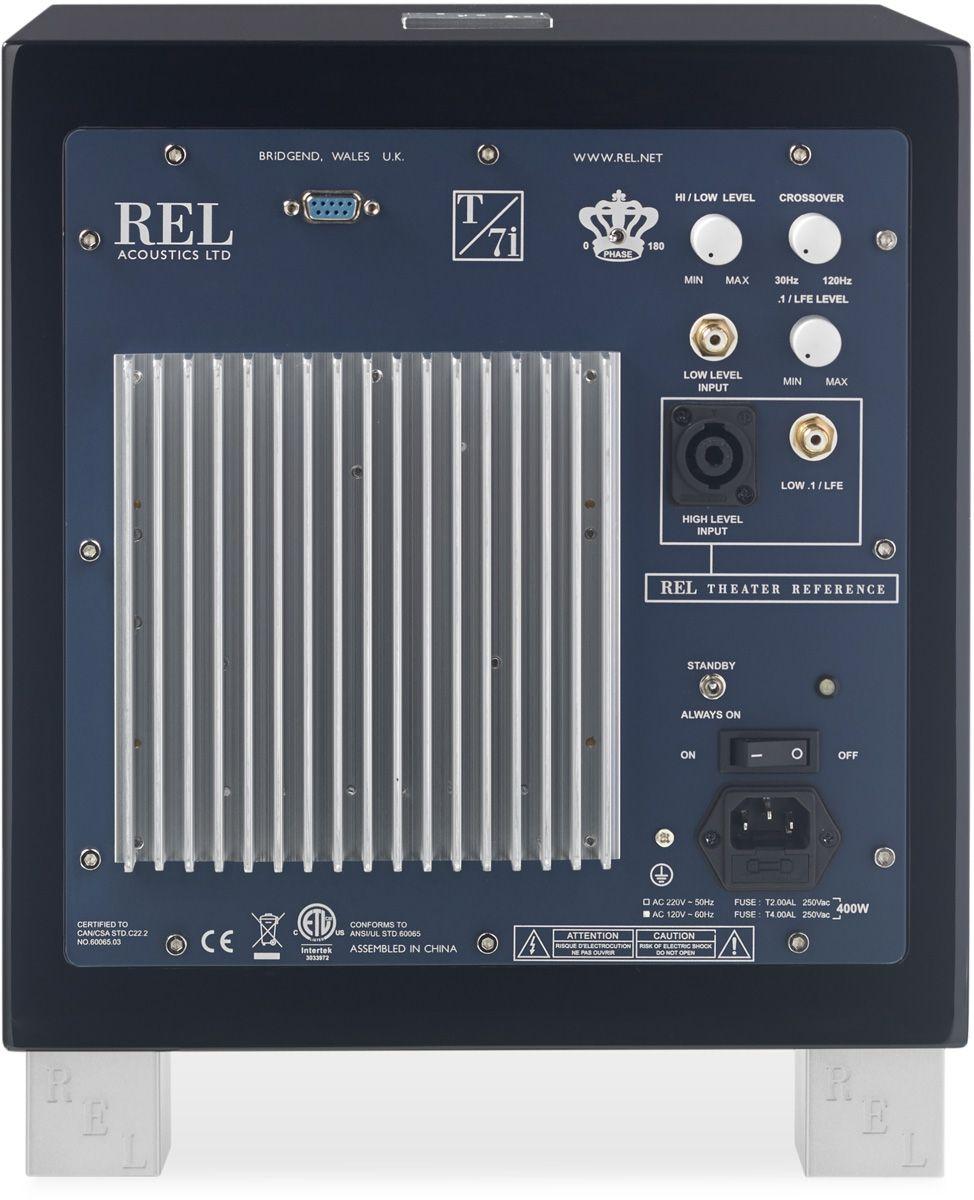 REL T7i, amplificateur en classe AB