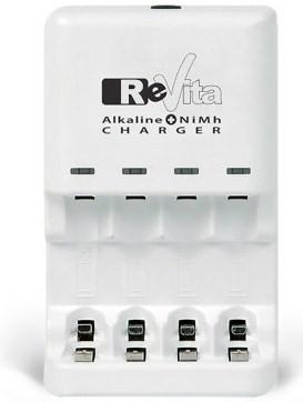 Chargeur de pile alcaline universelle