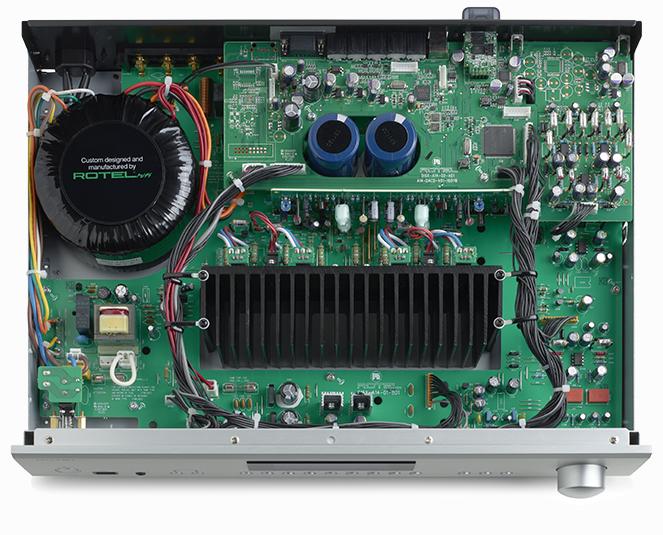 Amplificateur stéréo intégré Rotel A-12, DAC 24 bits / 192 kHz, récepteur sans fil Bluetooth apt-X