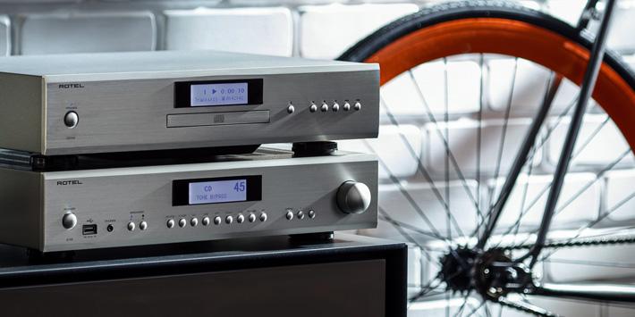 lecteur CD Rotel CD-14, DAC Wolfson 24 bits / 192 kHz