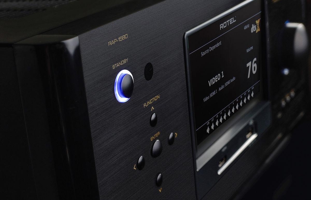 Rotel RAP-1580, amplificateur home cinéma dolby atmos