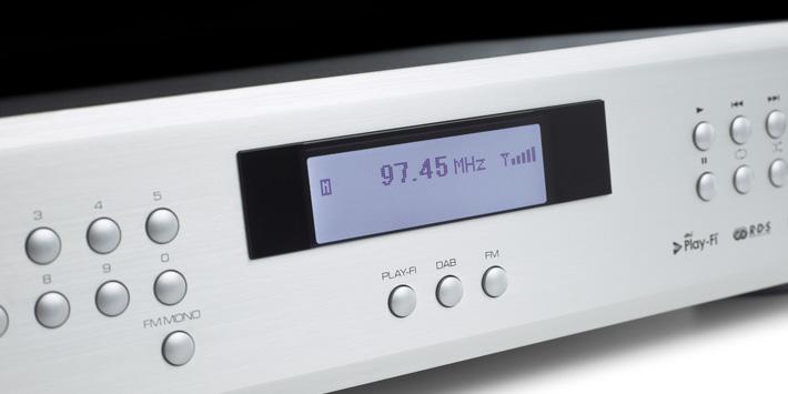 lecteur audio réseau Rotel T-14, WiFi, double tuner FM, DAB et streaming DTS Play-Fi