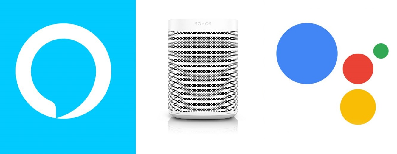 Sonos One, commandes vocales Alexa et Google
