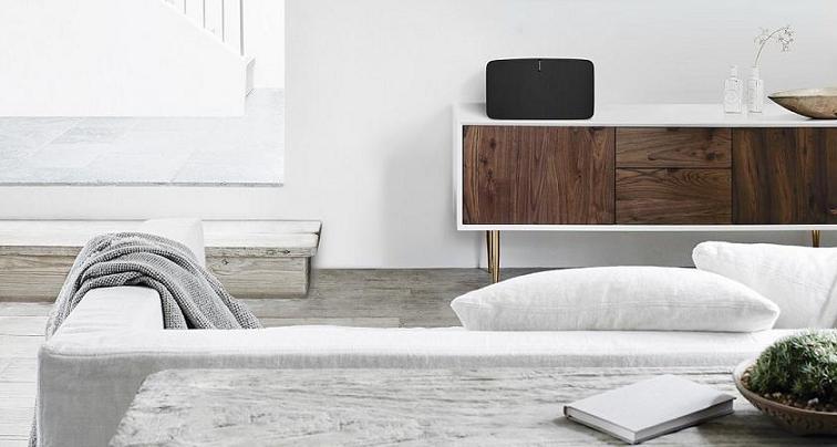 enceinte wifi multiroom sonos play 5 ii. Black Bedroom Furniture Sets. Home Design Ideas
