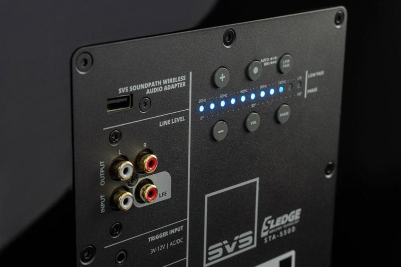 SVS SB2000 Pro, Interface de contrôle intelligente