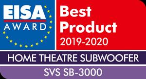 Prix du meilleur subwoofer, EISA Award, SB-3000