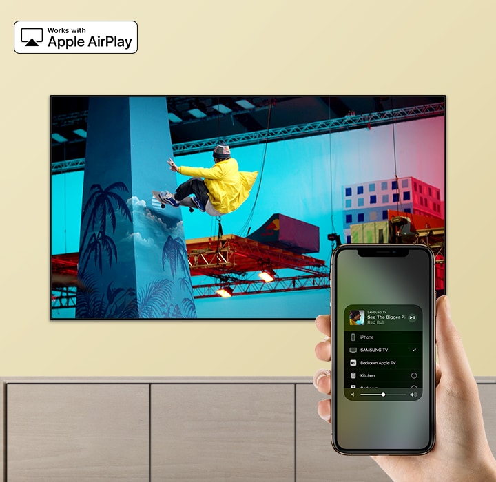 Samsung UE50RU7405, AirPlay 2