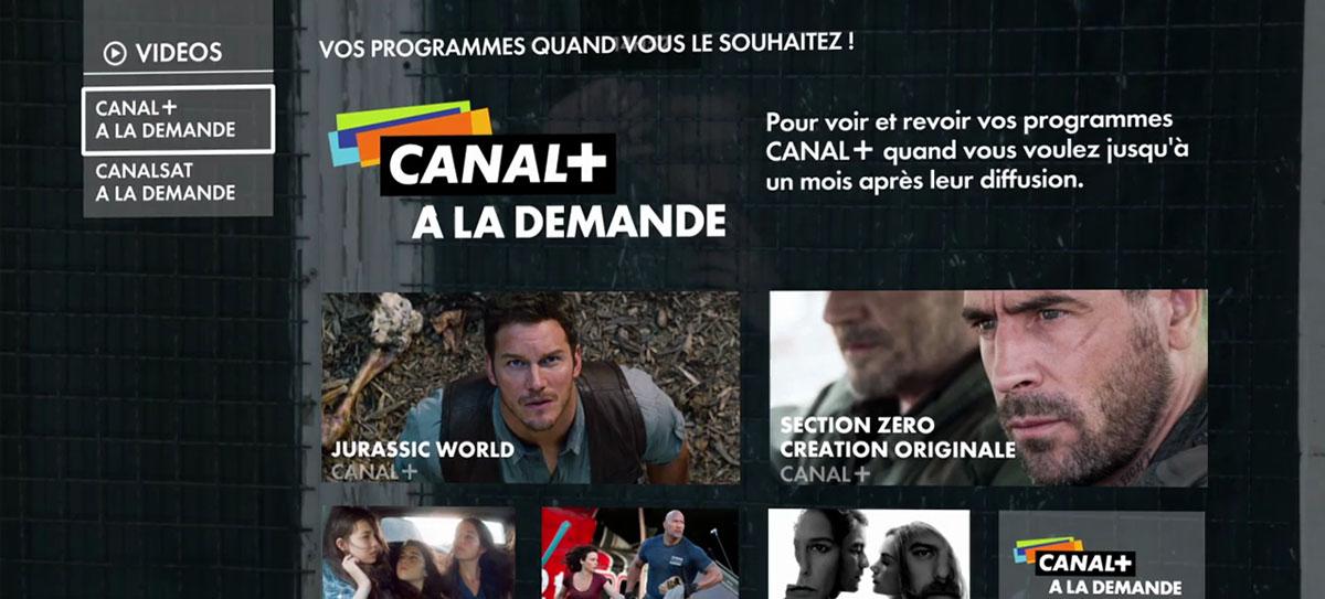 My Canal est disponible sur les TV Samsung QLED