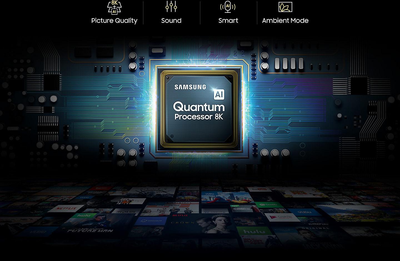 Processeur Quantum 8K Samsung QLED Q950R