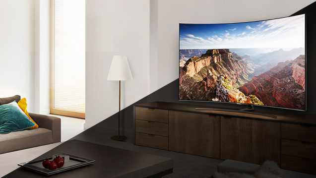 Gestion du contraste du TV Samsung QE55Q9F 2018