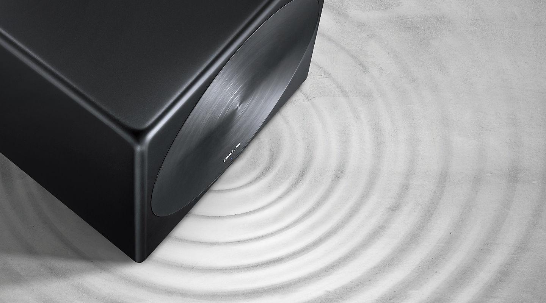 Caisson de basse Sans fil, Compatible avec les barres de son Sound+, Samsung SWA-W700