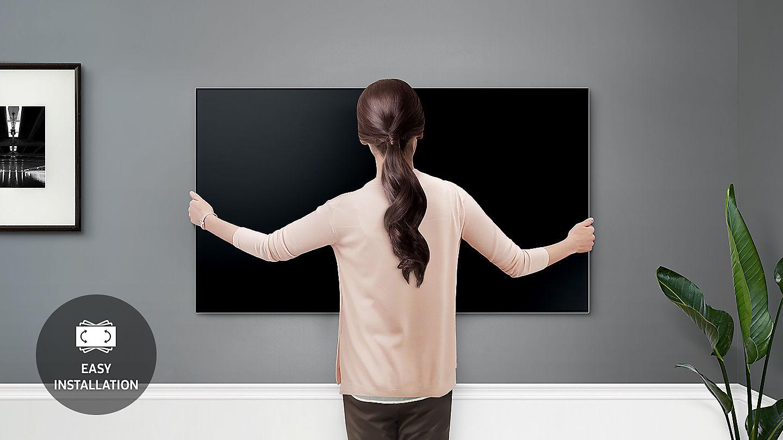 Support mural extra-fin pour les téléviseurs Samsung QLED 2018