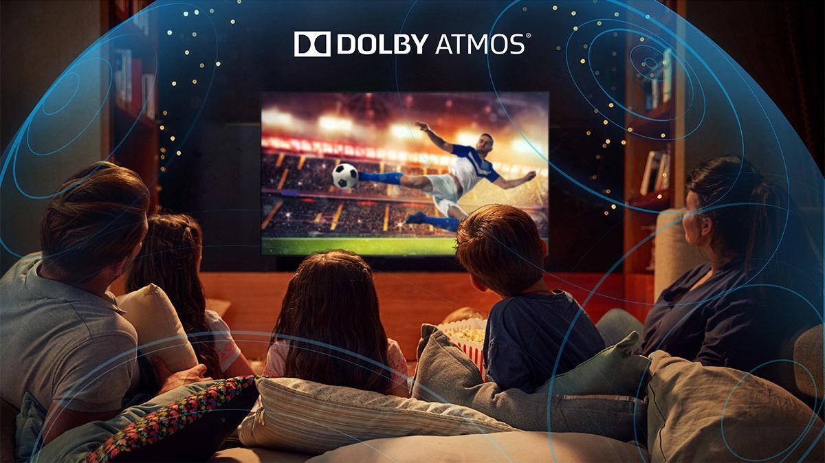 Téléviseur TCL 65C715, compatible Dolby Atmos