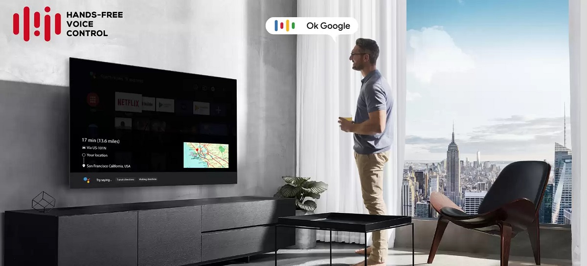 TCL 55C715, Android TV