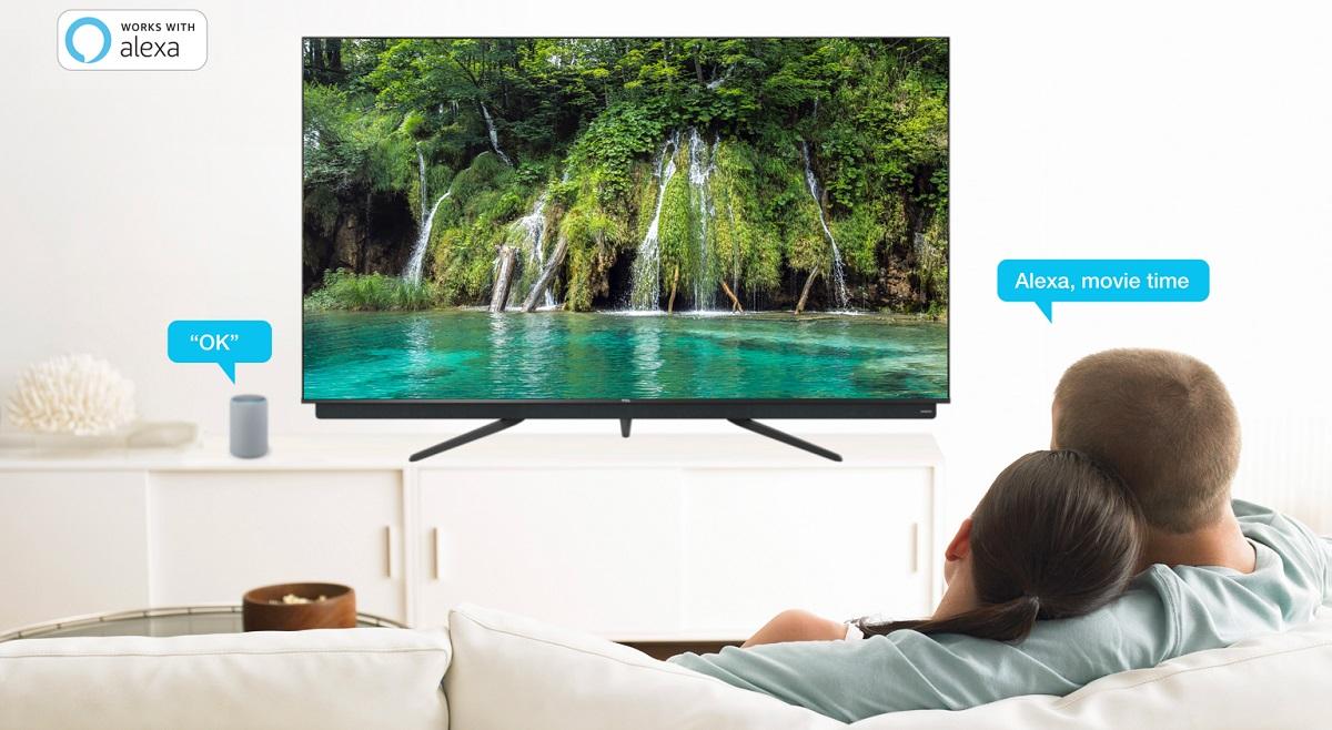 TCL 55C815, téléviseur avec Alexa intégré
