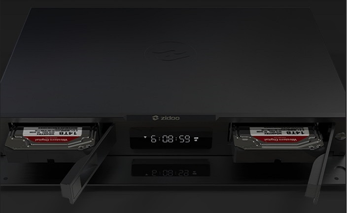Lecteur multimédia Zidoo UHD3000