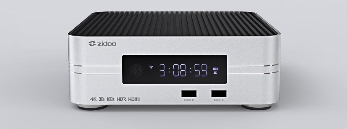 Lecteur multimédia 4K UHD, ZIDOO Z10