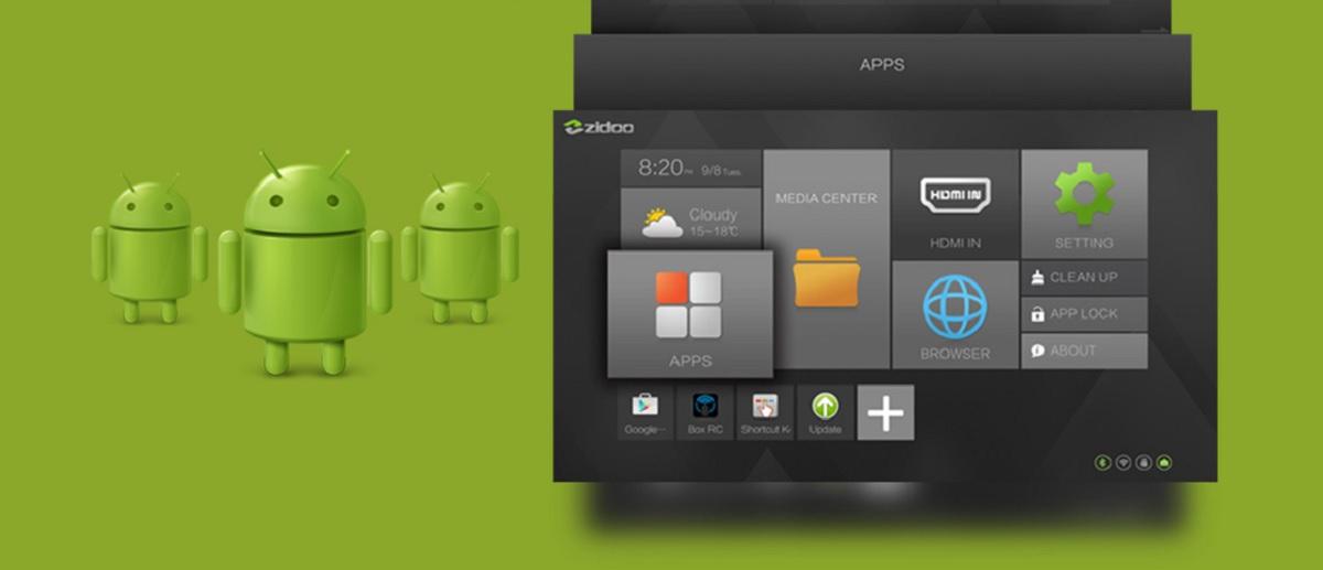Lecteur multimédia Zidoo Z10, Android 7.1