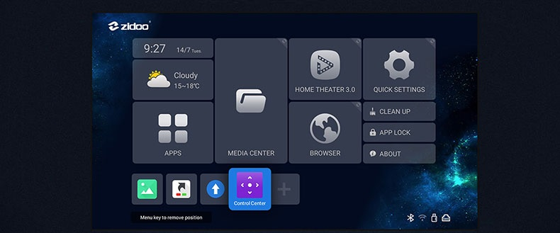 ZIDOO Z9X Android 9.0