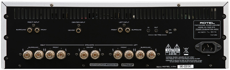 Ampli de puissance - Class D - 5 x 250 Watts