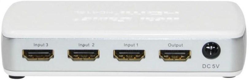 Commutateur HDMI 4 entrées vers 1 sortie