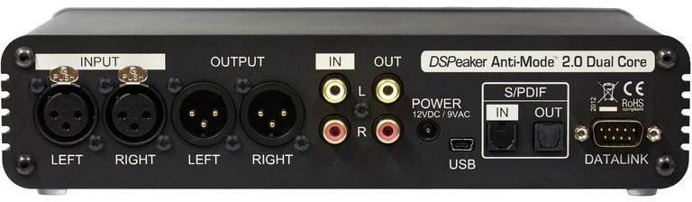 Pré ampli avec correction acoustique - DAC - USB