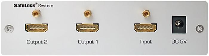 Répartiteur HDMI 1 entrée vers 2 sorties