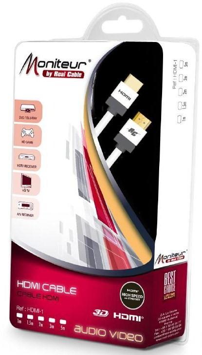 Câble HDMI - 4K - 3D - ARC - Double blindage
