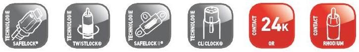 cable audio mono 1RCA - Cuivre désoxygéné à 99,99