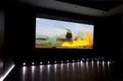 Ecran de projection Screen Research avec estrade LED