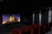 Réalisation d'une salle de cinéma privée