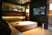 Salon TV avec ensemble Pioneer / Bose