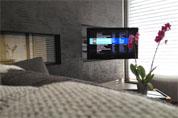 Televiseur Sony LED sur bras pivotant